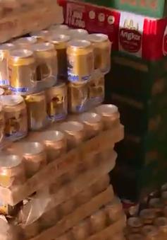 Gia tăng nhập lậu mặt hàng bia, nước giải khát vào dịp cuối năm