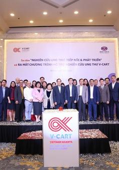 Ra mắt Chương trình hỗ trợ nghiên cứu và công nghệ trong ung thư V-CART