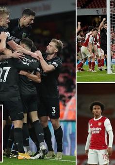 Arsenal 0-1 Burnley: Xhaka nhận thẻ đỏ, Aubameyang đốt lưới nhà