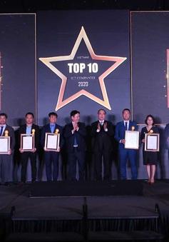 Công bố top 10 doanh nghiệp CNTT 2020