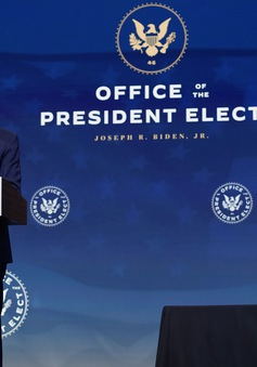 Những ưu tiên chính sách của Tổng thống đắc cử Joe Biden