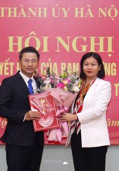 Ông Nguyễn Phi Thường giữ chức vụ Bí thư Đảng đoàn Liên đoàn Lao động TP Hà Nội