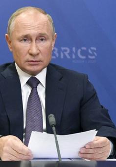 Cuộc họp báo cuối năm khác lạ của Tổng thống Nga Putin trong dịch COVID-19