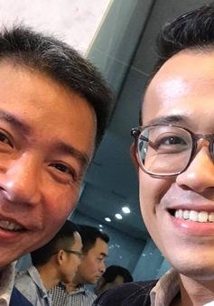 """MC Đức Bảo và Thùy Linh đi dẫn đám cưới """"cô Đẩu"""" Công Lý"""