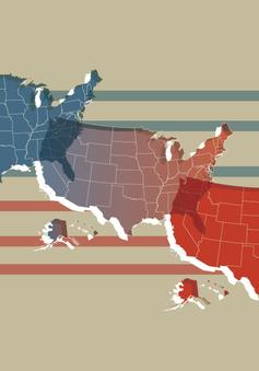 Bầu cử Tổng thống 2020 phơi bày một nước Mỹ chia rẽ sâu sắc