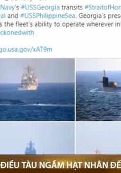 Mỹ điều tàu ngầm hạt nhân đến sát Iran