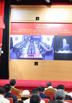 Thủ tướng: Bộ Công an đã thực hiện tốt nhiệm vụ phòng chống tham nhũng