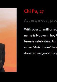 """Trấn Thành, Chi Pu, Đông Nhi lọt top """"Asia's 100 Digital Star"""" của Forbes"""