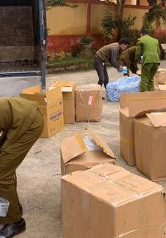 Lạng Sơn: Tiếp tục tạm giữ 119.000 chiếc khẩu trang y tế không có hóa đơn, chứng từ