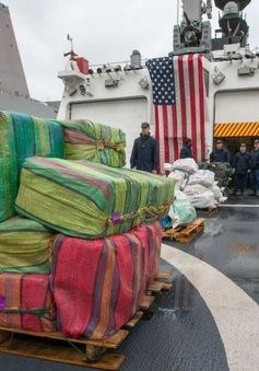 Mỹ thu giữ hơn 9 tấn cocaine tại khu vực Thái Bình Dương