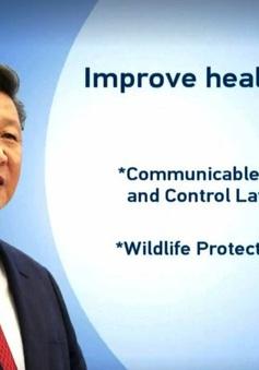 Chủ tịch Trung Quốc yêu cầu phải có luật an toàn sinh học