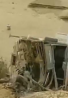 Xe bus lao xuống vực ở Peru, ít nhất 8 người thiệt mạng
