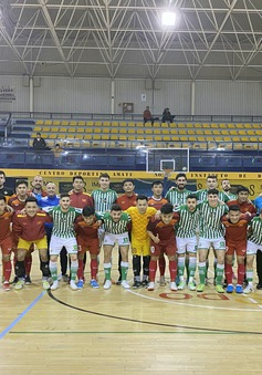 Dứt điểm kém hiệu quả, ĐT futsal Việt Nam thua Real Betis trong trận giao hữu cuối tại Tây Ban Nha