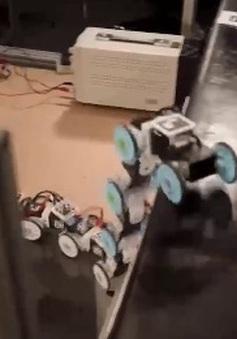 Robot có thể bò, trườn như rắn