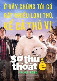 """""""Sở thú thoát ế"""" tung poster và trailer chính thức hài hước lầy lội"""