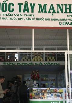 Rút giấy phép nhà thuốc găm khẩu trang tại Đắk Lắk