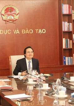 Đề nghị Đại sứ quán Hoa Kỳ hỗ trợ Việt Nam phát triển phương thức giáo dục trực tuyến