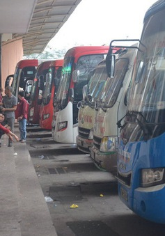 Nhiều xe khách tuyến Hà Tĩnh - Hà Nội tạm dừng hoạt động