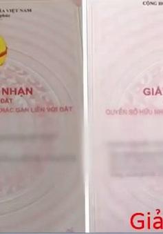 Cảnh báo thủ đoạn đánh tráo sổ đỏ ở Hà Nội