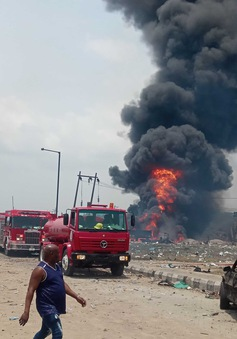 Nổ khí gas tại Nigeria, ít nhất 15 người thiệt mạng