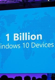 Windows 10 cán mốc 1 tỷ thiết bị hoạt động