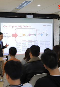 Khai trương chương trình ươm tạo startup Batch 1