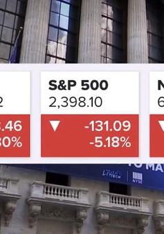 Thị trường chứng khoán Mỹ, dầu và vàng tuột dốc