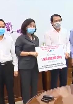 Ngành y tế Đà Nẵng tiếp nhận ủng hộ chống dịch