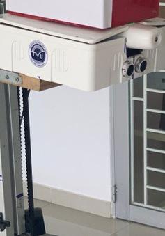 Trường ĐH Trà Vinh chế tạo thiết bị đo thân nhiệt tự động từ xa