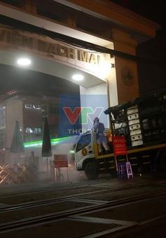 Hà Nội ra công điện khẩn ngăn chặn ổ dịch COVID-19 Bệnh viện Bạch Mai lây ra cộng đồng