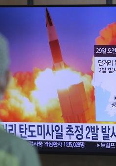 Nhật Bản phản ứng trước vụ phóng tên lửa của Triều Tiên