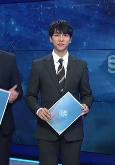 Lee Seung Gi bất ngờ xuất hiện với vai trò phát thanh viên