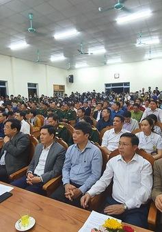Công bố chấm dứt việc cách ly đối với xã Sơn Lôi