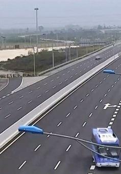 Phổ biến tình trạng xe chạy ngược chiều trên cao tốc