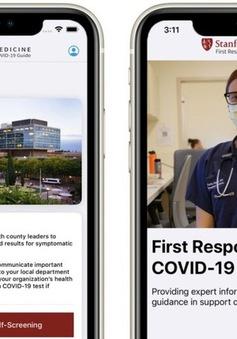 Đại học Mỹ ra mắt ứng dụng ưu tiên xét nghiệm và hỗ trợ nhân viên y tế