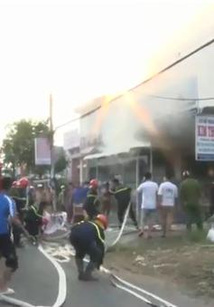 Cháy cơ sở sản xuất nhang tại An Giang gây nhiều thiệt hại