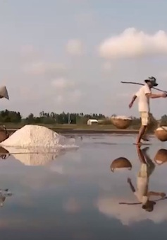 Mặn mòi vị muối Bạc Liêu