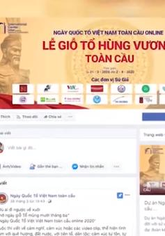 Ngày Quốc tổ Việt Nam toàn cầu 2020 được tổ chức trực tuyến