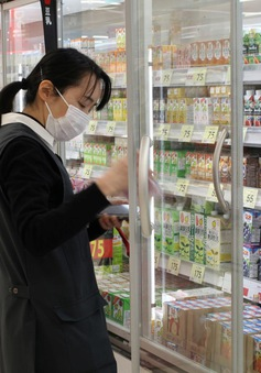 Doanh thu siêu thị tại Nhật Bản tăng nhờ nhu cầu dự trữ thực phẩm
