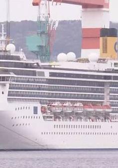 90 thủy thủ nhiễm SARS-CoV-2 trên du thuyền Italy