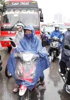 Đợt mưa rét bất thường ở Hà Nội kéo dài trong 2-3 ngày