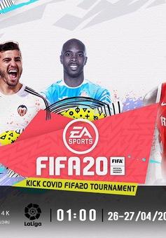 VTVcab trực tiếp giải đấu bóng đá điện tử Kick COVID với các ngôi sao La Liga