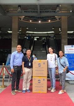 Công ty Cổ phần Samaki Power trao tặng 18.000 khẩu trang tới quận Hoàng Mai, Hà Nội
