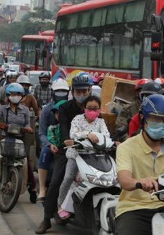 Tắc đường hàng chục km ở cửa ngõ thủ đô