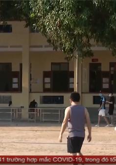 Quân đội Khánh Hòa chăm sóc công dân cách ly