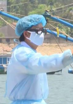 Toàn bộ ngư dân trên tàu cá bị tàu Trung Quốc đâm chìm đã vào bờ