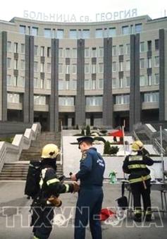 Cháy tại bệnh viện ở St. Peterburg, ít nhất 5 bệnh nhân COVID-19 thiệt mạng