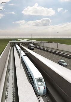 Đan Mạch xây đường hầm vượt biển dài nhất thế giới