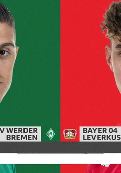 """Werder Bremen – Bayer Leverkusen: Kẻ mơ top 4, người chạy trốn nhóm """"đèn đỏ"""" (01h30 ngày 19/5)"""