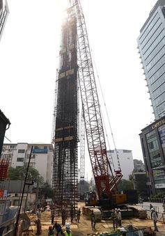 Đường sắt Nhổn - Ga Hà Nội sẽ vận hành chạy thử đoạn tuyến trên cao vào tháng 9/2020